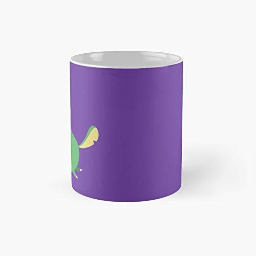 Taza clsica con diseo de rana y poogie | El mejor regalo divertidas tazas de caf de 325 ml