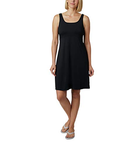 Columbia Women's Freezer III Dress, UV Sun Protection, Moisture Wicking Fabric, BLACK M