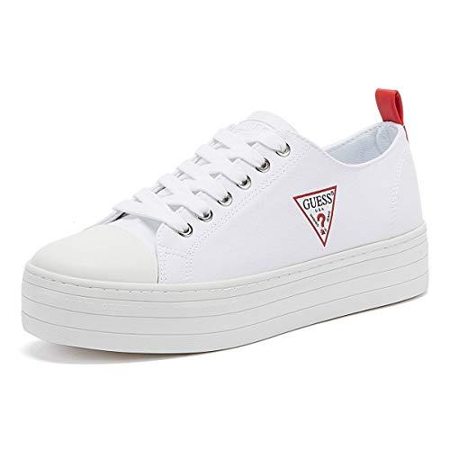 Guess Brigs Sneakers Bianche da Donna-UK 6 / EU 39