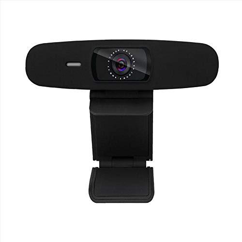 HD 720P Webcam mit Mikrofon PC Laptop Desktop USB 2.0 Full Web Kamera für Videoanrufe Studieren von Konferenzaufzeichnungen Spielen mit drehbarem Clip