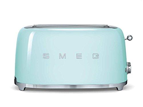 SMEG TSF02PGEU | Broodrooster 4 plakjes 50's Style | Kleur : pastelgroen