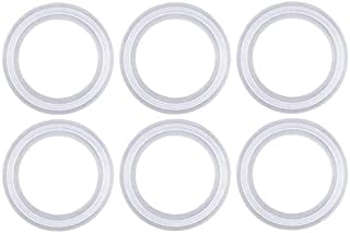 Brieftons Set of 6 Silicone O Rings Glass Bottles