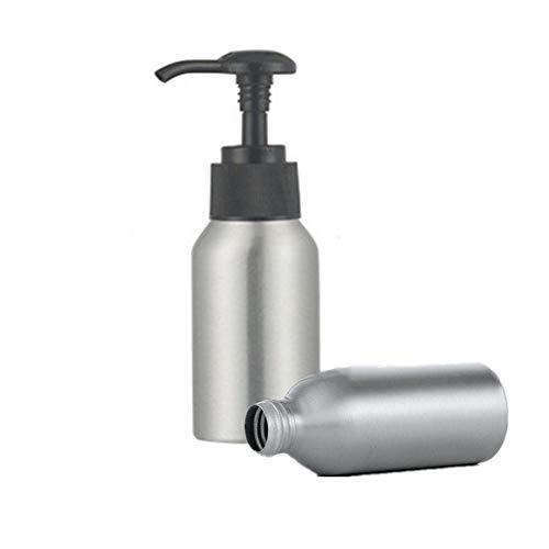 xiamenchangketongmaoyi Dispensador Jabon Baño Dosificador Jabon Baño Botella de la Bomba Dispensador de líquido Maquillaje de la Botella de la Bomba 50ml