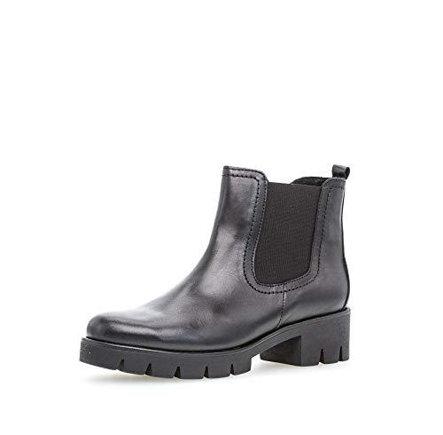 Gabor Shoes Damen 51.710.27 Stiefelette, schwarz, 39 EU