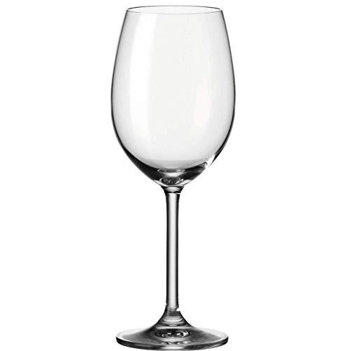 Leonardo Daily Rotwein-Glas, Rotwein-Kelch mit Stiel, spülmaschinenfeste Wein-Gläser, 6er Set, 460 ml, 063316