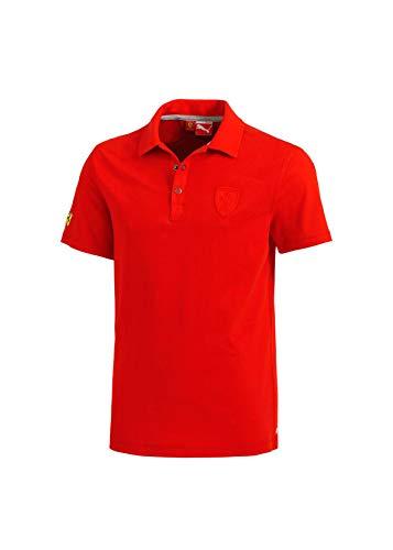 OCC sportwear PUM56274802XXL Polo Classic Red Boutons Scuderia Ferrari Taille XXL, Multicolor