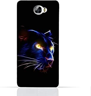 Huawei Y6 II Compact TPU Silicone Case With Panther Eye Design