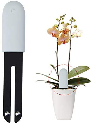 Yize für VegTrug Soil Tester, intelligenter Plant Monitor Bluetooth 4 in 1 Bodentester überwacht automatisch die Feuchtigkeits-/Licht-/Festigkeits-/Temperaturstufen – Internationale Version