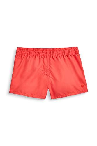 ESPRIT Mädchen Miami Beach Yg Surf Shorts Badeshorts, Rot (Coral Red 640), 170 (Herstellergröße: 170/176)