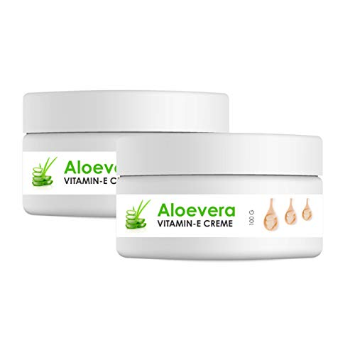 L'Glam Aloe Vera Vitamin E Crème for Dry Skin Hydration Soft & Smooth Intense Moisturizing Skin cream with Shea Butter and Glycerine for Men and for Women 200gm