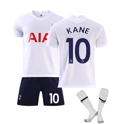 WYIILIN Camiseta de fútbol para niños Nº 10 K.A.N.E Jersey con calcetines para hombres y mujeres adultos 28