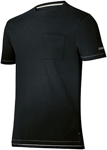 Uvex Camiseta de Manga Corta con Cuello Redondo Tune-Up para