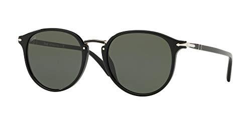 Persol Herren Sonnenbrille 0PO3210S, Schwarz (Black), 51