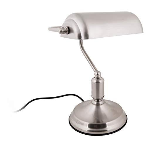 Present time - Lampe à poser antique fer chromé BANK