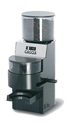 Gaggia Kaffeemühle MDF schwarz-silber