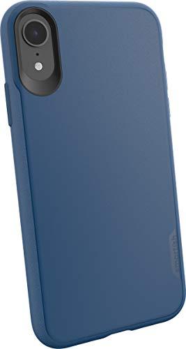 Smartish Apple iPhone XR Slim Case Hülle - Kung Fu Grip Bumper - Leichte, schlanke Schutzhülle (Silk) Cover Blues on the Green blau