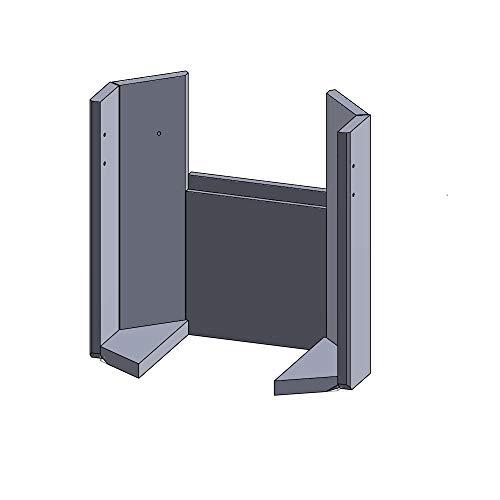 Flamado Feuerraumauskleidung Komplettset 7-teilig passend für Scan Kamin Ersatzteile Kaminofen Brennraumauskleidung Vermiculite 1.150°C