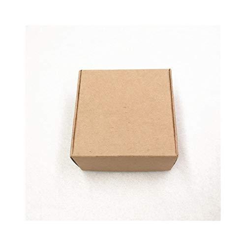 10 stks Gratis Verzending 65 * 65 * 30 mm Kraft Papier Vliegtuigen Product Verpakking Dozen Mooie Handgemaakte Bruiloft Geschenken Box Papier Karton Candy Box 6.5x6.5x3cm BRON