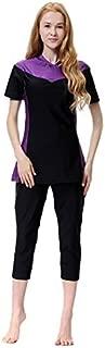 BEESCLOVER New Bikini Women Girl Swimwear Printed Full Cover Modest Swimming Suit Plus Size