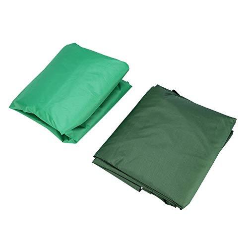 Blantye Cubierta de Repuesto para Dosel de jardín al Aire Libre Courtyard, Protector Solar Resistente al Agua, Protector contra el Polvo(Verde)