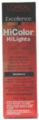 L Oreal Excel HiColor Highlights Magenta 35 ml: Amazon.es ...