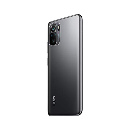 Redmi Note 10 (Shadow Black, 4GB RAM, 64GB Storage) - Super Amoled Display | 48MP Sony Sensor IMX582 | Snapdragon 678 Processor