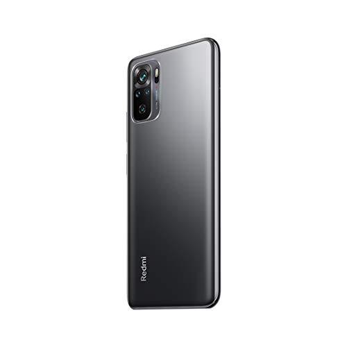 Redmi Note 10 (Shadow Black, 4GB RAM, 64GB Storage) - Super Amoled Display | 48MP Sony Sensor IMX582 | Snapdragon 678 Processor