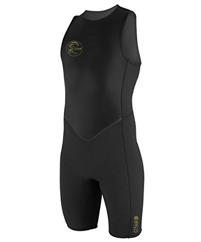 O'Neill Mens O'Riginal 2mm Back Zip Short John Wetsuit 4529 - Black
