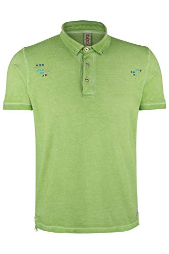 Bob Herren Poloshirt Ricky Prato Tintofreddo - 4XL