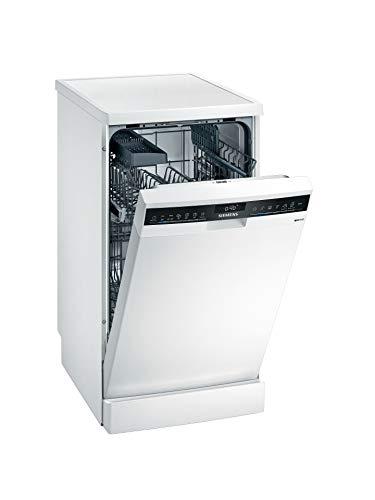 Siemens SR23EW28KE iQ300 Lavavajillas independiente, D, 63 kWh, 9 MGD, compatible con Smart Home Connect, programa Hygiene Plus, varioSpeed Plus.