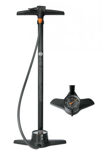 Standpumpe SKS Airkompressor 12.0 Metallrohr mit Manometer