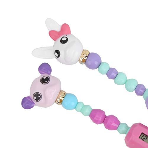 linxiaojix Pulseras coleccionables, Pulseras retorcidas de Animales Lindas e interesantes para niños para el hogar(Mochi + Glomi (Dog + Rabbit))