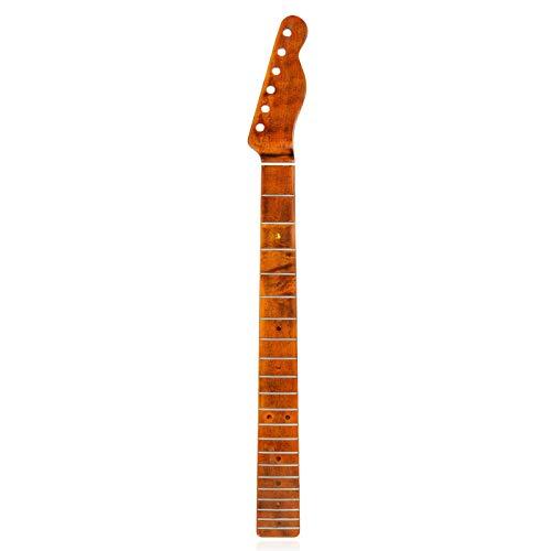 Stronrive E-Gitarre Gitarrenhals 21 Bünde Gitarre Ahornhals E-Gitarrenhals für TL Tele