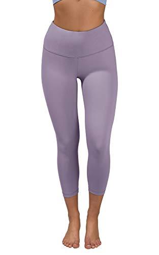 90 Degree By Reflex - High Waist Tummy Control Shapewear - Power Flex Capri - Lavender Night - Small