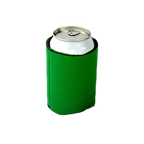 Fundas para latas, con aislamiento de cerveza, fundas aisladas para decoraciones de fiestas, enfriadores de latas de cerveza para bebidas y botella verde 1 pieza