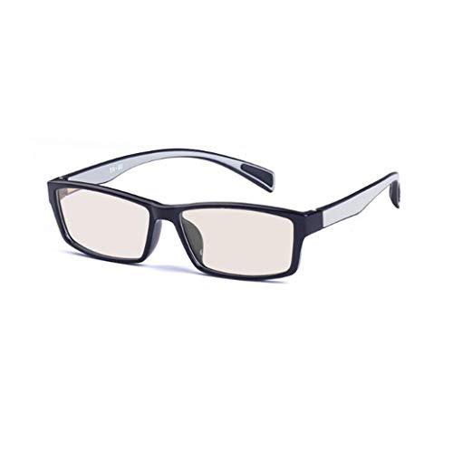 Tr90 Frame voor mannen- en vrouwenspel, bescherming tegen straling, vlakke spiegel, antiblauwe glazen