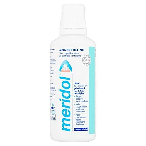 Meridol Fluoride Mondspoeling, 400 ml