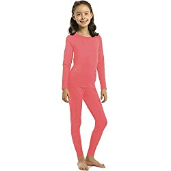 ViCherub Thermal Underwear Set Girls Kids