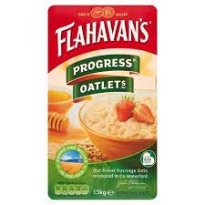 Flahavan's Irish Progress Oatlets Large 1.5 Kg Bag Imported from Ireland