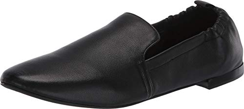 Aerosoles womens Rossie Loafer Flat, Black Leather, 8 US