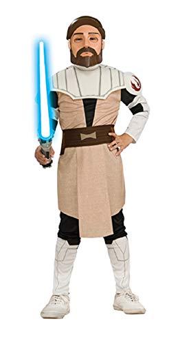 narrenkiste Disfraz infantil de Obi-Wan Kenobi de Star Wars, para nios de 5 a 7 aos, talla M, 5 a 7 aos