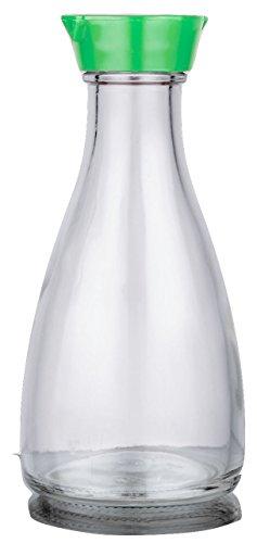 Dispensador de botella de salsa de soja y con función de Multi Usos (tapa verde)