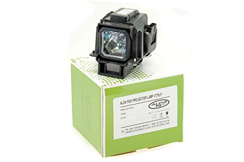 Alda PQ-Premium, Beamerlampe / Ersatzlampe für NEC VT47 Projektoren, Lampe mit Gehäuse