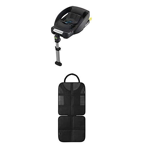 Maxi-Cosi EasyFix Isofix base für Babyschale CabrioFix, schwarz + Rücksitzschoner (schnell und...