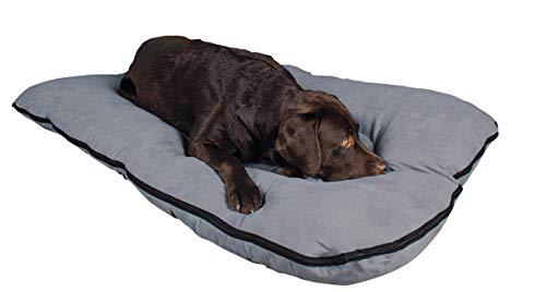 SAUERLAND Cama para Perros/colchoneta para Perros XXL, 120x80 cm, Gris, colchón de Perro