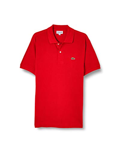 Camisa Polo, Lacoste, Masculino Vermelho GG