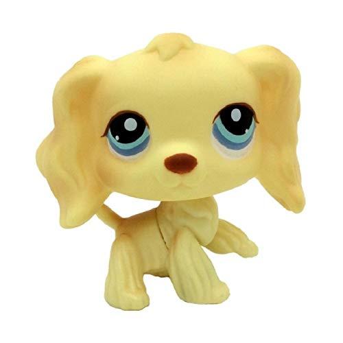 LPS tienda de mascotas Lindo pelo corto gato juguete grande danés perro pastor grande juguete juego de rol modelo de juguete regalo de los niños