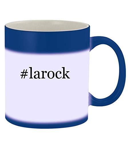 #larock - 11oz Hashtag Magic Color Changing Mug, Blue