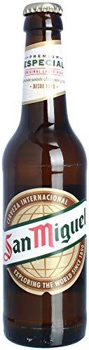 Spanisches Bier/Cerveza española San Miguel (Pfandflasche)