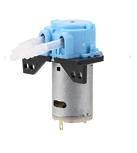 Peristaltische Pumpe, 12V 3 5 Dosierpumpe DIY Peristaltikschlauch Kopf for Aquarium Lab Chemische Analyse (Farbe : Blau)